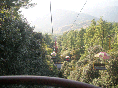 Murree is best toursit attraction Ayubia Chairlift